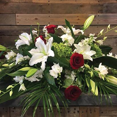 Arrangements funéraires pour coussins